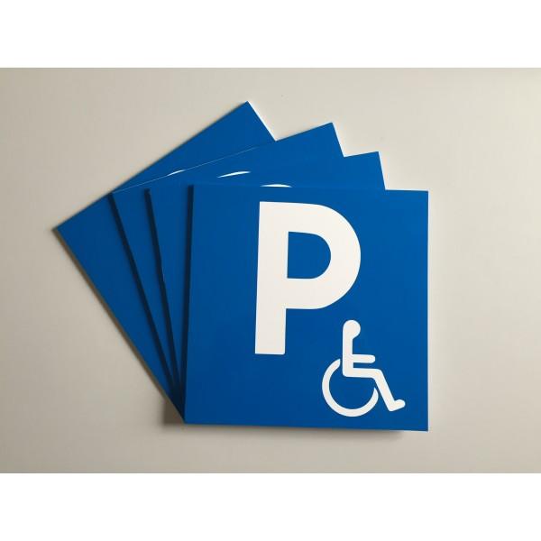 panneaux stationnement handicap abcoupes. Black Bedroom Furniture Sets. Home Design Ideas